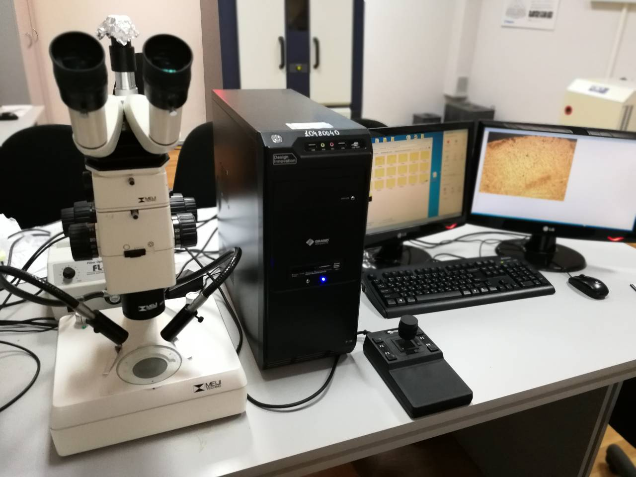 Laboratory of optical microscopy